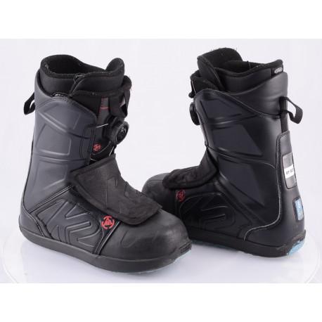 chaussures snowboard K2 RAIDER, INTUITION, BOA-TECHNOLOGY, flex 6/10 BLACK/blue
