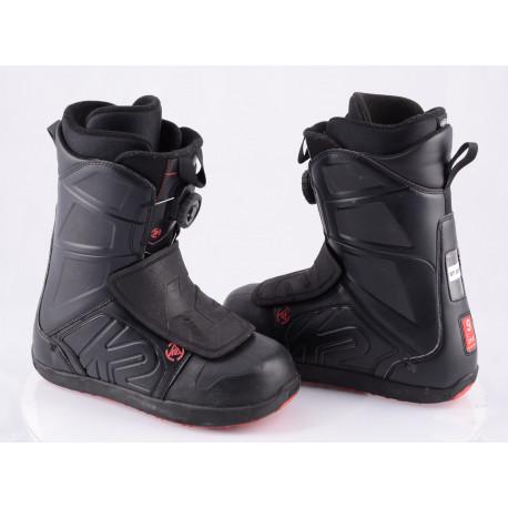 chaussures snowboard K2 RAIDER, INTUITION, BOA-TECHNOLOGY, flex 6/10 BLACK/red