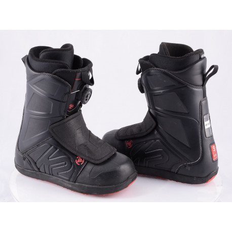 snowboardové boty K2 RAIDER, INTUITION, BOA-TECHNOLOGY, flex 6/10 BLACK/red