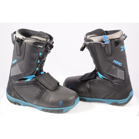 snowboardboots NITRO AGENT TLS 2020 BLACK/blue ( som NYA )