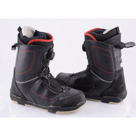 snowboardové topánky OTHREE ATOP lacing system, BLACK ( TOP stav )