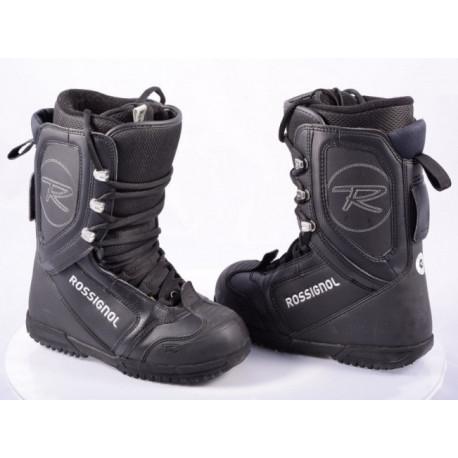 snowboardové topánky ROSSIGNOL, BLACK