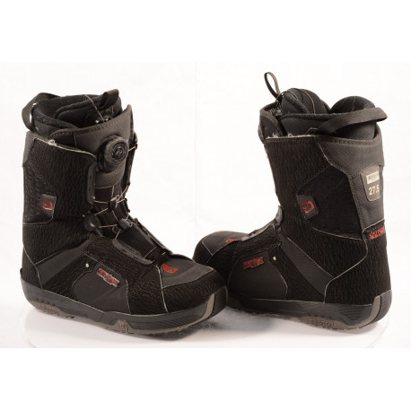 chaussures snowboard SALOMON SAVAGE RTL black/semish, BOA TECHNOLOGY