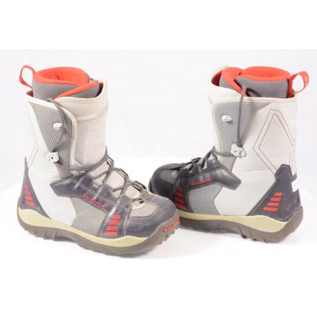 snowboardové topánky SALOMON TALAPUS junior LACE, GREY