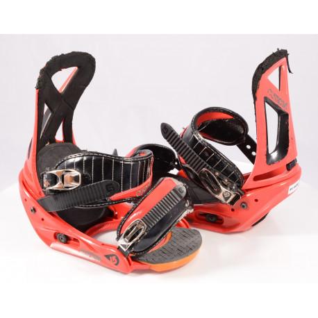 snowboardové viazanie BURTON CUSTOM, RED/black, size M