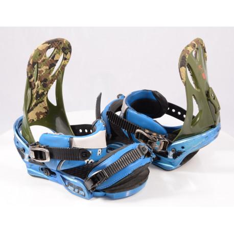 snowboardové viazanie BURTON MISSION, IBK, BLUE/green, size M