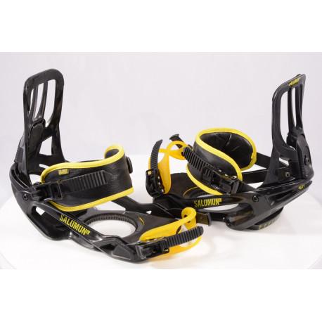 snowboard binding SALOMON PACT UNITE, BLACK/yellow, size L/XL ( like NEW )