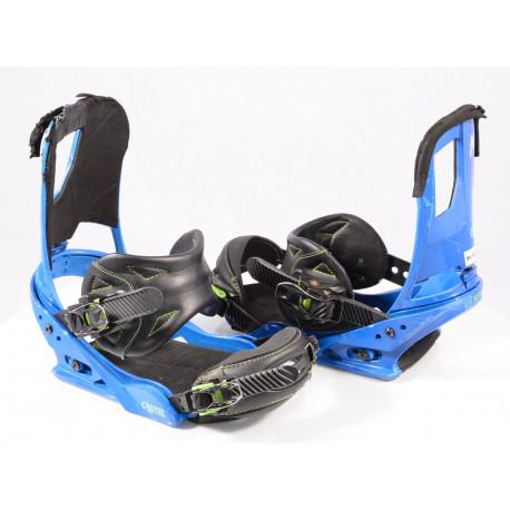 snowboard binding BURTON CARTEL, BLUE/black, size M