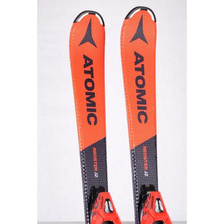 skis enfant/junior ATOMIC REDSTER J2 2019 BEND-X + Atomic L7 ( comme NEUFS )