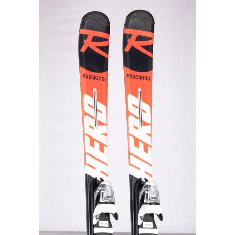 children's/junior skis ROSSIGNOL HERO JUNIOR MULTI EVENT 2019 + Look Xpress 7 ( TOP condition )