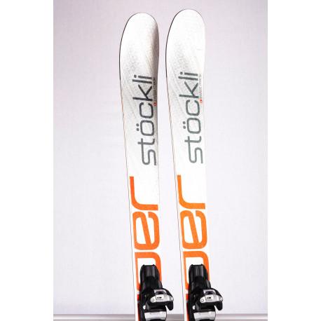 freeride skis STOCKLI STORMRIDER 83 SILV/RED 2018, titan, woodcore + Marker Squire 11 ( like new )