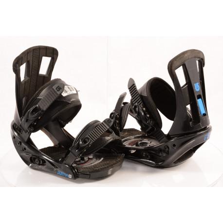 snowboardové viazanie BURTON PROGRESSION 2018 black/blue, size S, M