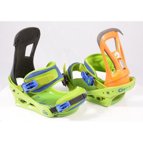 snowboard binding BURTON CARTEL, GREEN/blue, size M