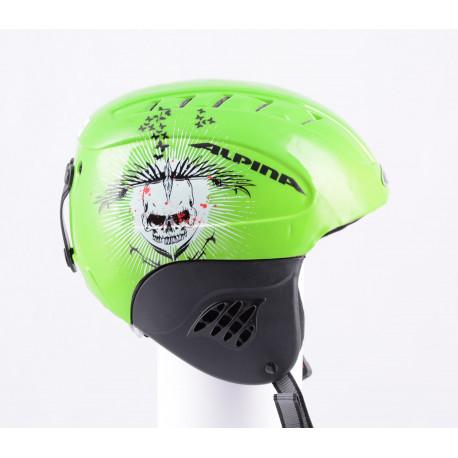 lyžiarska/snowboardová helma ALPINA CARAT green, nastaviteľná
