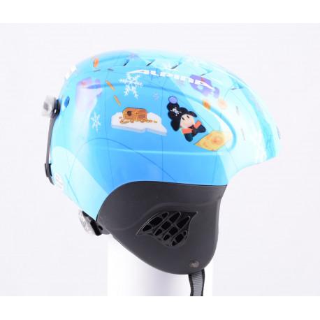 lyžiarska/snowboardová helma ALPINA FLASH blue, nastaviteľná