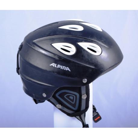 lyžařská/snowboardová helma ALPINA JUNTA black/white, nastavitelná
