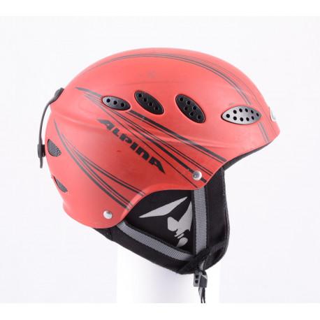 lyžařská/snowboardová helma ALPINA LIPS FLEX red, nastavitelná