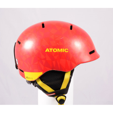 lyžiarska/snowboardová helma ATOMIC MENTOR JR 2020, Red/Yellow, einstellbar (TOP stav )