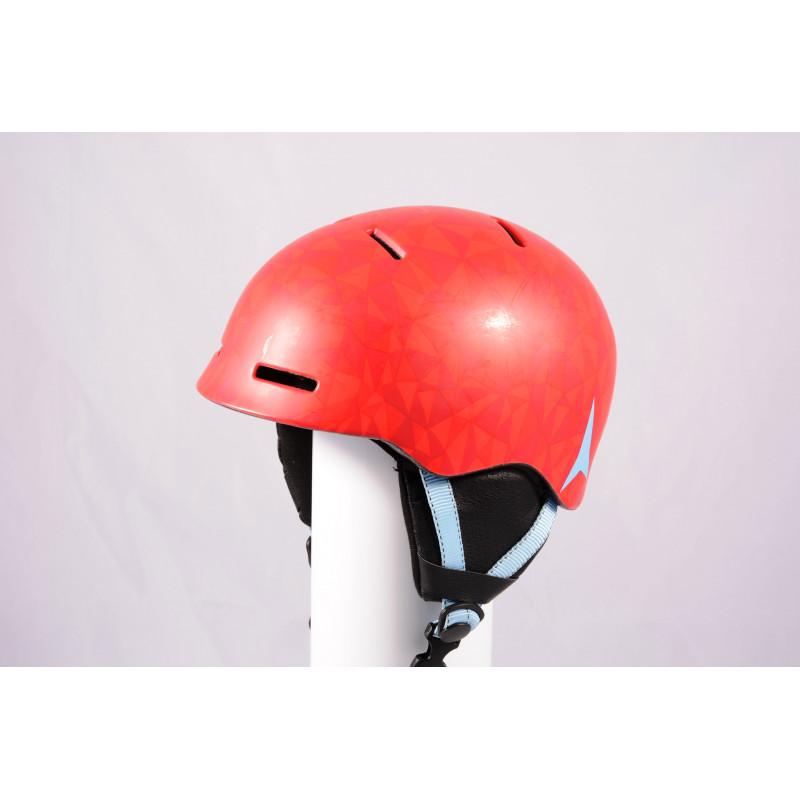 ski/snowboard helmet ATOMIC MENTOR JR 2020, Red/blue, adjustable ( TOP condition )