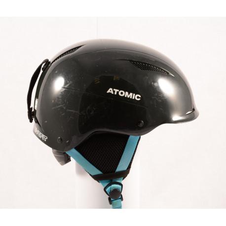 skihelm/snowboardhelm ATOMIC SAVOR LF live fit, BLACK/blue, verstelbaar