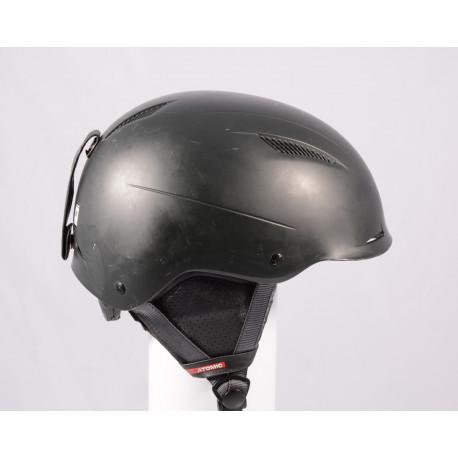 lyžařská/snowboardová helma ATOMIC SAVOR LF live fit 2018, BLACK/black, nastavitelná