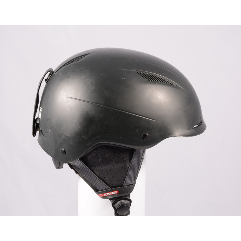 lyžiarska/snowboardová helma ATOMIC SAVOR LF live fit 2018, BLACK/black, einstellbar