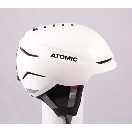 lyžařská/snowboardová helma ATOMIC SAVOR 2019, WHITE/grey, Air ventilation, nastavitelná ( TOP stav )