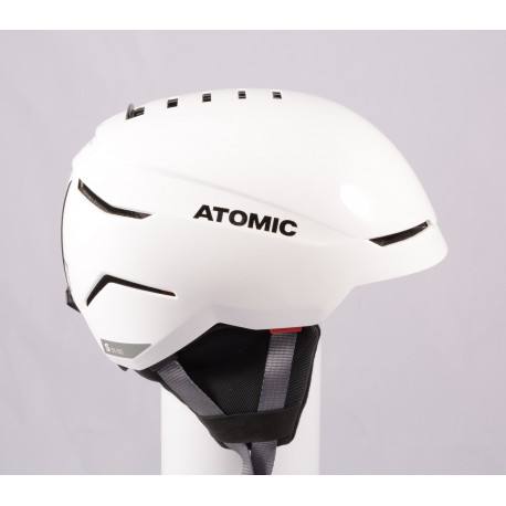 lyžiarska/snowboardová helma ATOMIC SAVOR 2019, WHITE/grey, Air ventilation, einstellbar ( TOP stav )