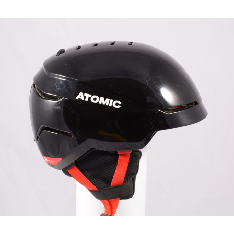 ski/snowboard helmet ATOMIC SAVOR 2019, BLACK/red, Air ventilation, adjustable ( TOP condition )