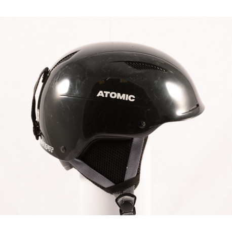 lyžařská/snowboardová helma ATOMIC SAVOR LF live fit 2018, BLACK/grey, nastavitelná