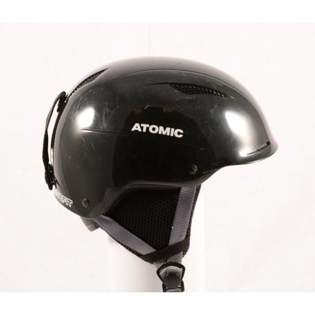 skihelm/snowboardhelm ATOMIC SAVOR LF live fit, BLACK/grey, verstelbaar