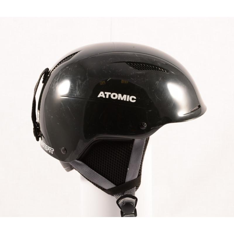 lyžiarska/snowboardová helma ATOMIC SAVOR LF live fit 2018, BLACK/grey, nastaviteľná