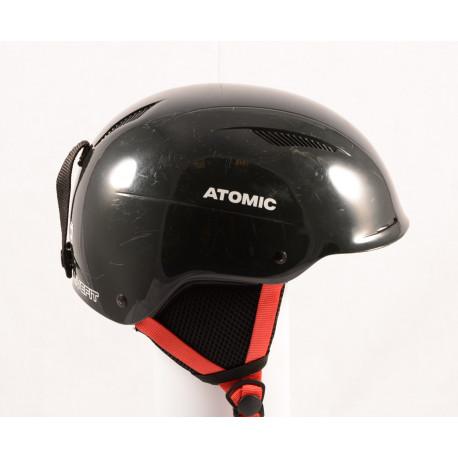laskettelu/lumilautailu kypärä ATOMIC SAVOR LF live fit, BLACK/red, säädettävä