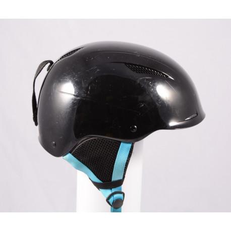 lyžiarska/snowboardová helma ATOMIC SAVOR LF live fit, BLACK/blue, einstellbar