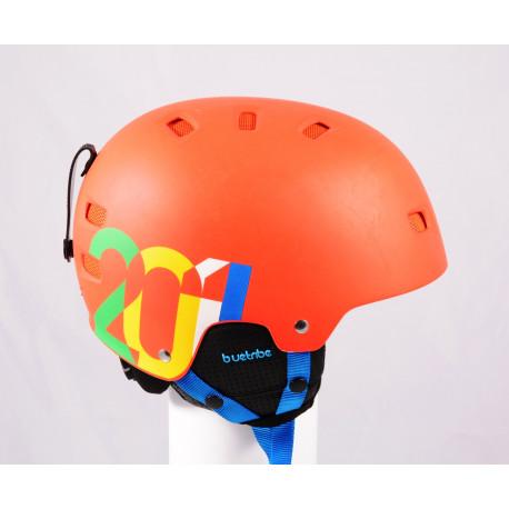 ski/snowboard helmet BLUETRIBE RIDER 2020, Red, adjustable