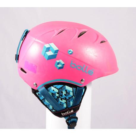 lyžiarska/snowboardová helma BOLLE B-FREE 2019 Pink, einstellbar