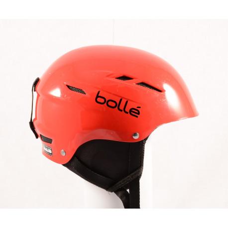 lyžařská/snowboardová helma BOLLE B-FUN Red, nastavitelná