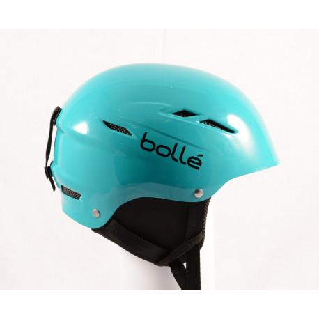 skihelm/snowboardhelm BOLLE B-FUN Green, verstelbaar
