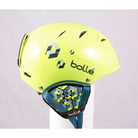 lyžiarska/snowboardová helma BOLLE B-FREE 2019 Yellow, einstellbar