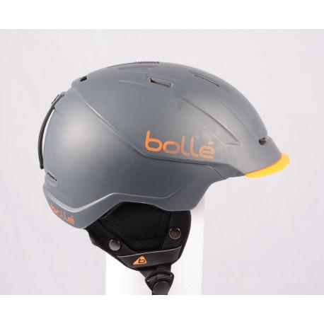 lyžiarska/snowboardová helma BOLLE INSTINCT 2018, Grey, einstellbar