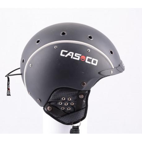 lyžiarska/snowboardová helma CASCO SP-3 airwolf 2018, black/white stripes, nastaviteľná