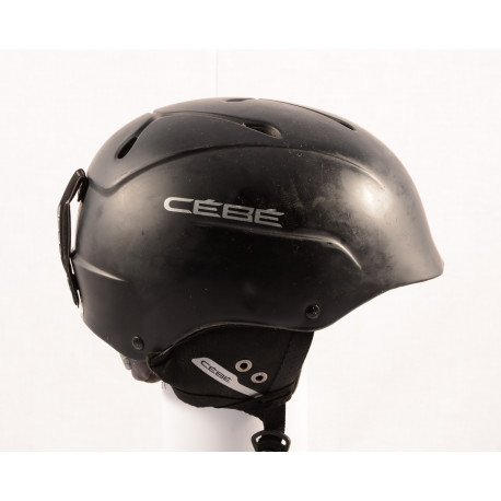 lyžiarska/snowboardová helma CEBE CONTEST 2018 black/matt, einstellbar