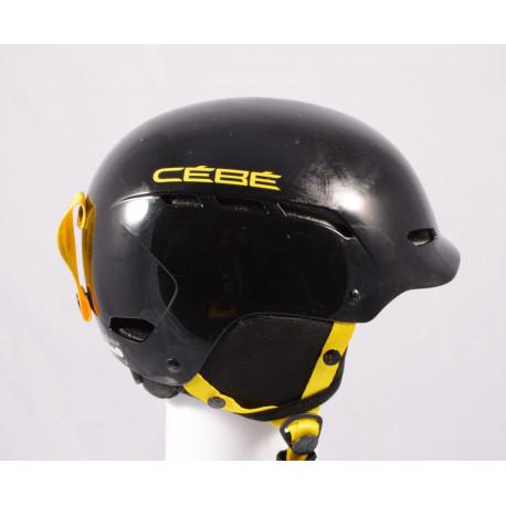 ski/snowboard helmet CEBE DUSK 2019, BLACK/yellow, adjustable