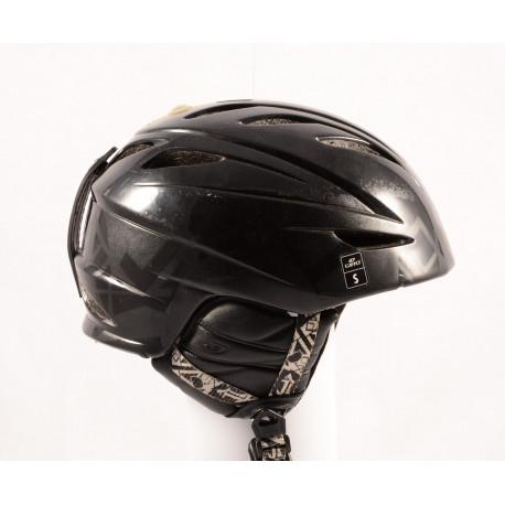 lyžiarska/snowboardová helma GIRO G10 black/matt, air ventilation, X-STATIC, nastaviteľná