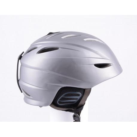 lyžiarska/snowboardová helma GIRO G10 2018 grey, air ventilation, X-STATIC, nastaviteľná ( TOP stav )
