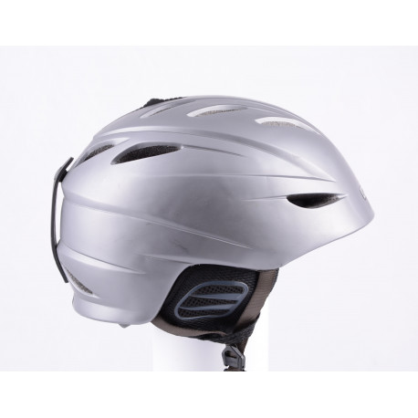 ski/snowboard helmet GIRO G10 grey, air ventilation, X-STATIC, adjustable ( TOP condition )