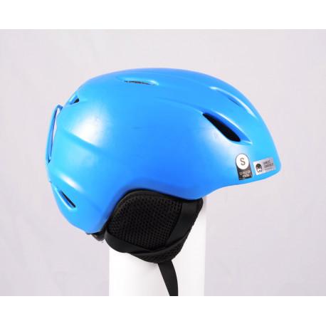 lyžiarska/snowboardová helma GIRO LAUNCH blue 2018, einstellbar