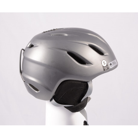 ski/snowboard helmet GIRO NINE grey, AIR ventilation, adjustable ( TOP condition )
