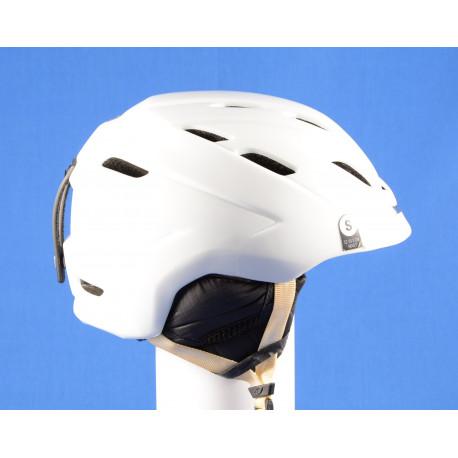 lyžiarska/snowboardová helma GIRO NINE.10 white, AIR ventilation, nastaviteľná ( TOP stav )