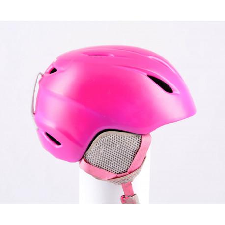 lyžiarska/snowboardová helma GIRO LAUNCH pink 2018, nastaviteľná ( TOP stav )